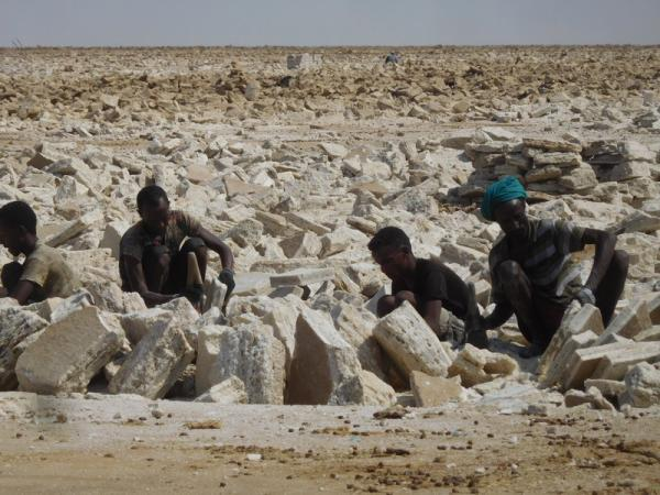 Danakil extraction du