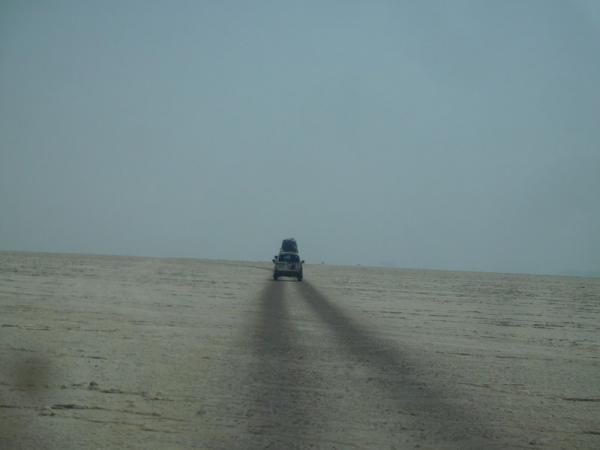 Danakil piste sur le