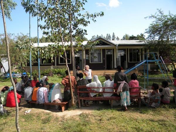 Ecole de Jimma réunion avec les parents