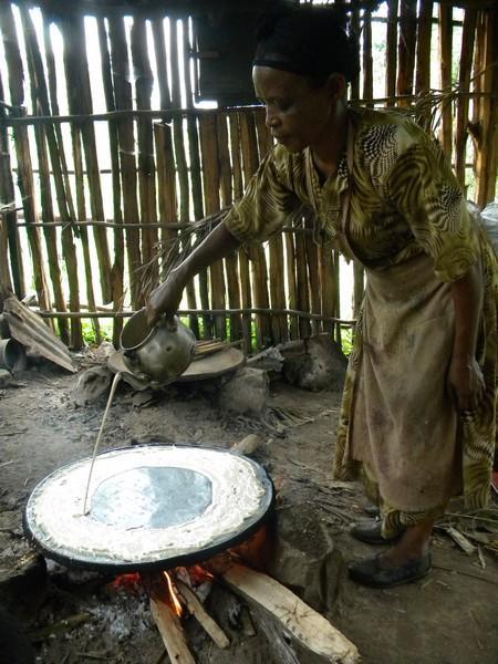 Fabrication de l'injira