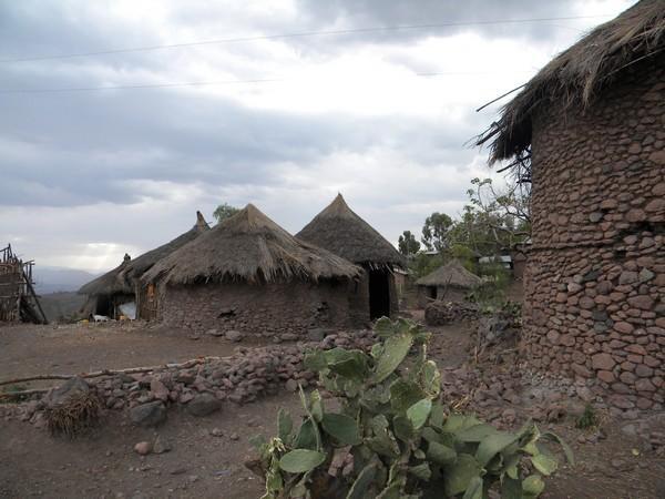 Lalibela habitations