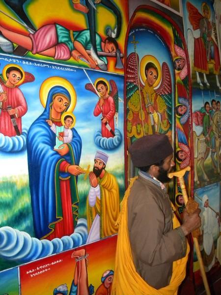 Peintures sur le mur